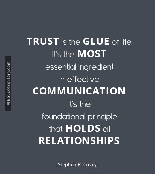 The Path to Leadership Trust